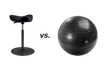 The stability ball as seating vs. the Move