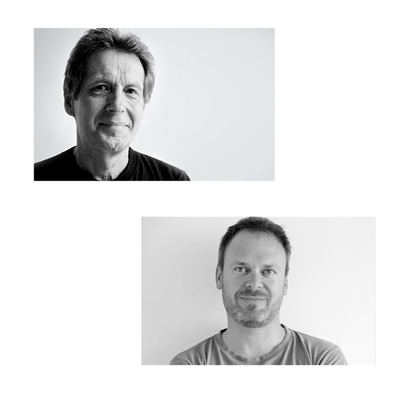 Olav Eldøy and Atle Tveit designers of Active chair