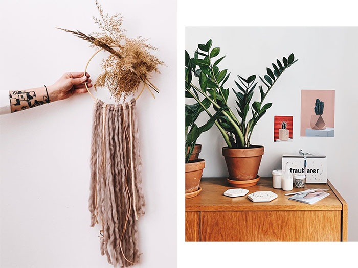 diy crafts and plants