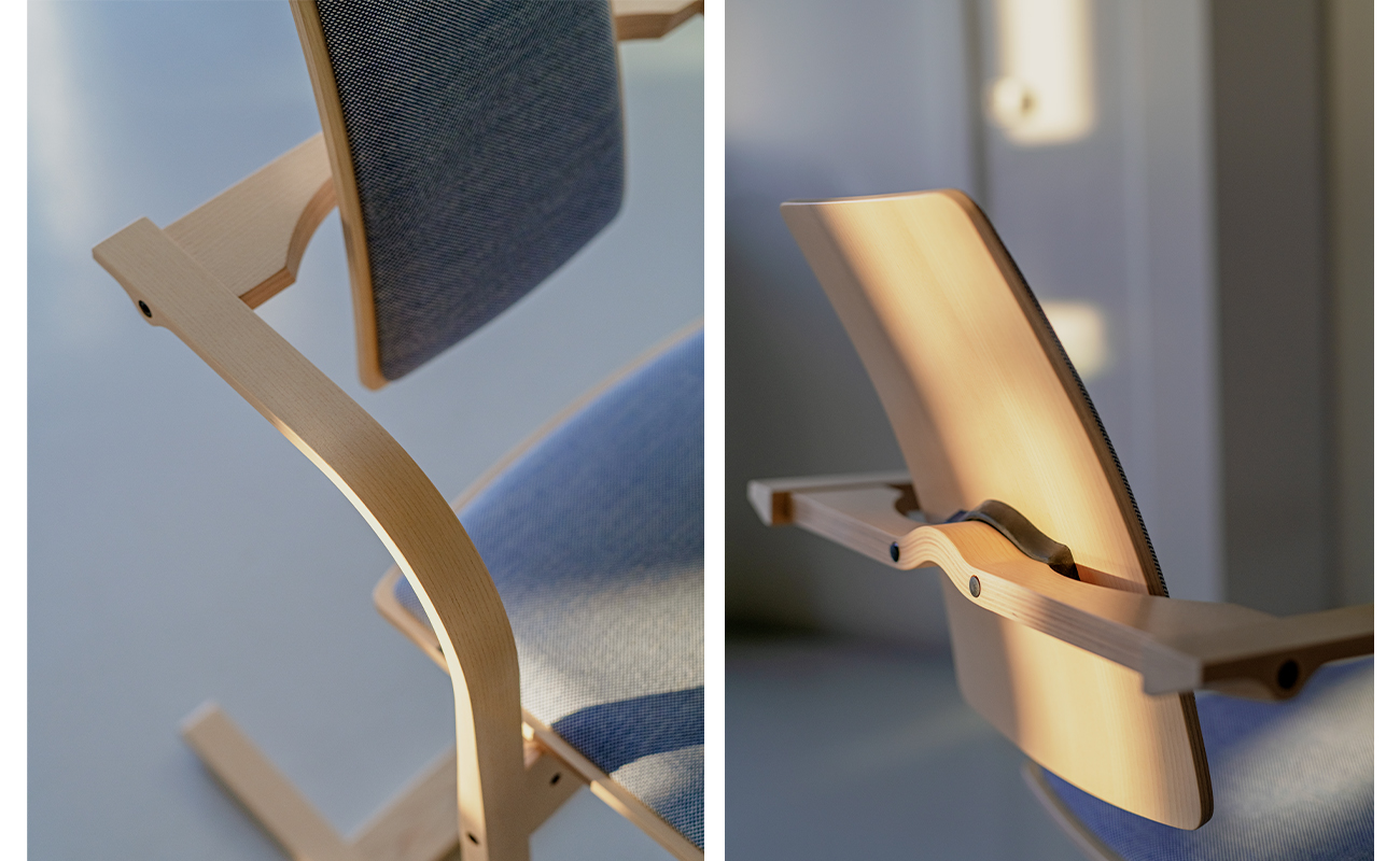 Close up image of Actulum chair