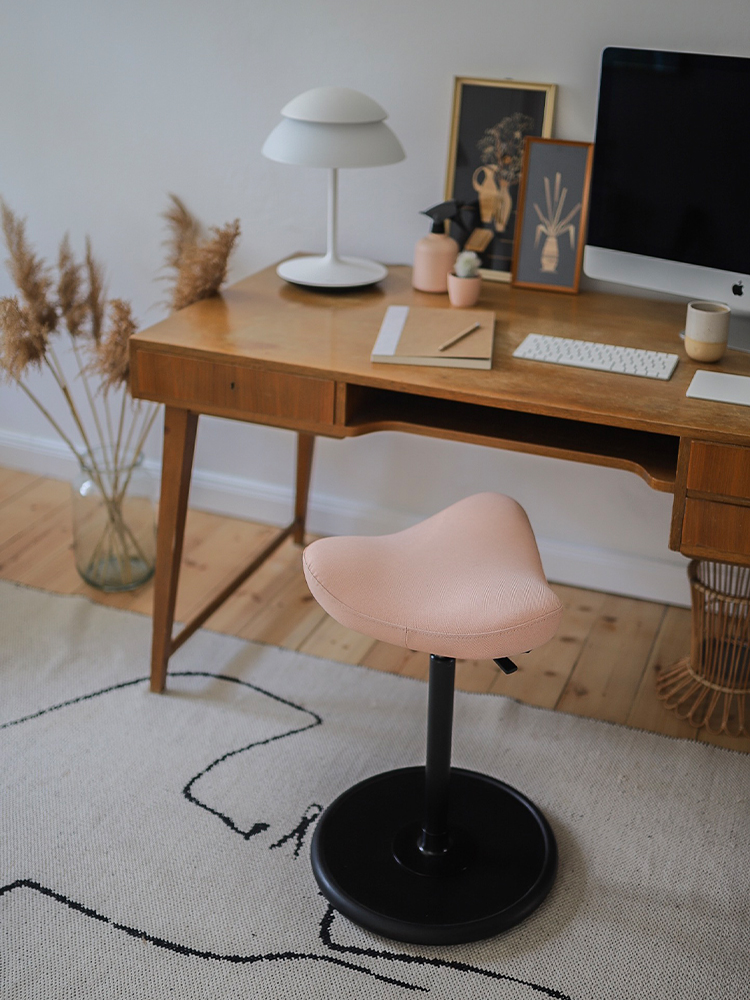 Move stool by a desk in beautiful Berlin home