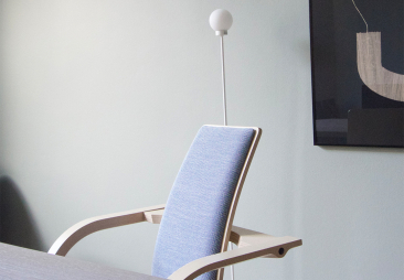 Varier Actulum chair in dining room