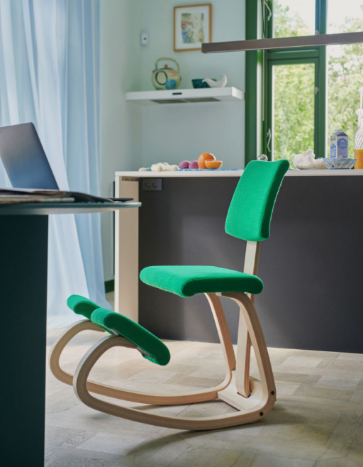 Which Kneeling Chair is Right for You? Variable Plus, design by Peter Opsvik, 2021.
